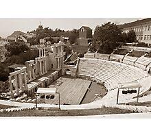 Plovdiv Amphitheater Photographic Print