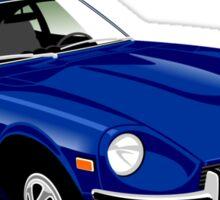Datsun 240Z blue Sticker