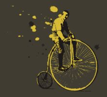 bike man by Я M