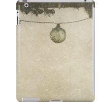 Christmas Baubles in the Snow iPad Case/Skin