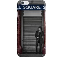 Russel Square Tube Station iPhone Case/Skin