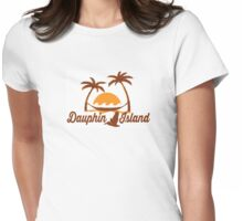 Dauphin Island  - Alabama. Womens Fitted T-Shirt