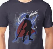 Super Smash Bros. Blue Marth Silhouette Unisex T-Shirt