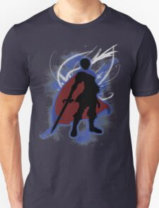 Super Smash Bros. Blue Marth Silhouette T-Shirt