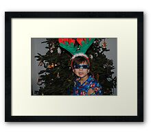 Rudolph's Competition Framed Print