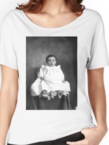 GRANDPA ALBEE AS A BABY Women's Relaxed Fit T-Shirt