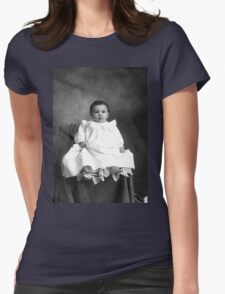 GRANDPA ALBEE AS A BABY Womens Fitted T-Shirt