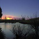 mystic sunset by Lee Popowski