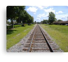 Ye old railroad Canvas Print
