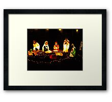 The real reason for Christmas Framed Print