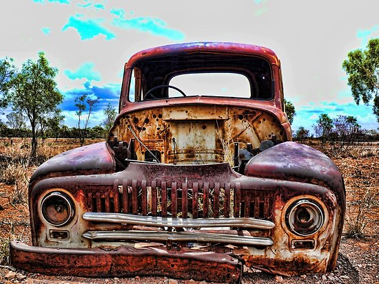 Old Rusty Car by Ausgirl60