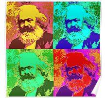 Karl Marx Pop Art Poster