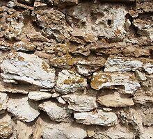 Old wall by vladromensky