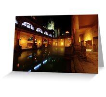 Thermal Baths at Bath Greeting Card