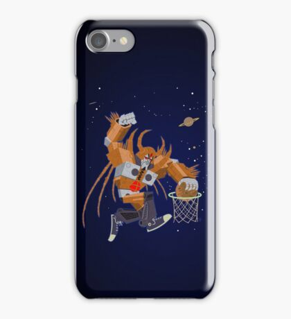 Planet dunk iPhone Case/Skin