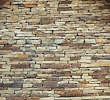 Old stone wall texture by vladromensky