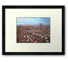The Larapinta Trail walk Framed Print