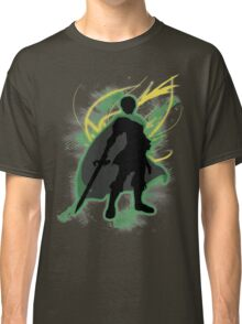 Super Smash Bros. Green Marth Silhouette Classic T-Shirt