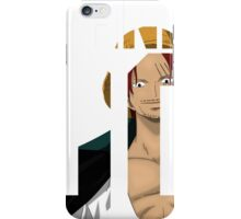 One piece - Shanks 00 ! iPhone Case/Skin