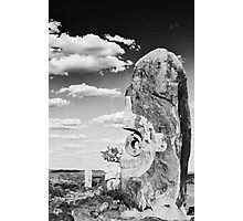 Desert Sculpture Photographic Print