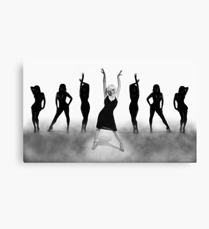 Come To The Cabaret Canvas Print