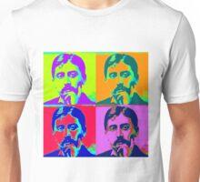Marcel Proust Pop Art Unisex T-Shirt