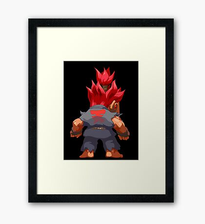 Puzzle Demon Framed Print
