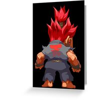 Puzzle Demon Greeting Card