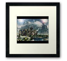 mira castle Framed Print