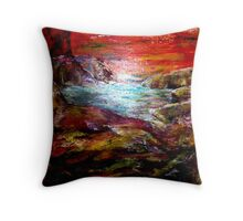 SURREAL SUNSET - Landscape Throw Pillow