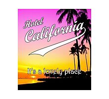 Hotel California Photographic Print