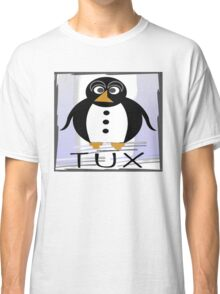 TUX:  STRAIGHT-UP Classic T-Shirt
