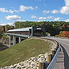 Smolen-Gulf Covered Bridge by Monnie Ryan