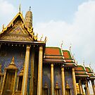 Bangkok Grand Palace by Nickolay Stanev