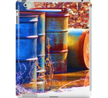 Old Barrels #2 iPad Case/Skin