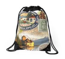 switzerland Drawstring Bag