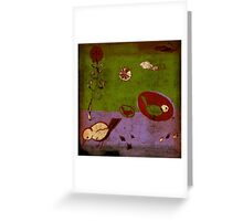 brave birds Greeting Card