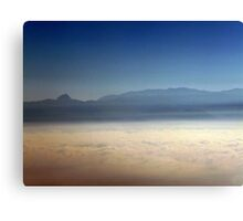 Moutains in the Clouds Canvas Print