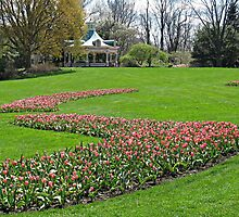 The Gardens in Spring by Monnie Ryan
