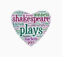Shakespeare Word Art Unisex T-Shirt