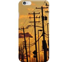 Electric Sunset iPhone Case/Skin