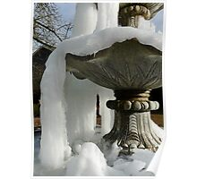 frozen fountain Poster