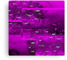 Purple Abstract  Art + Products Design  Canvas Print
