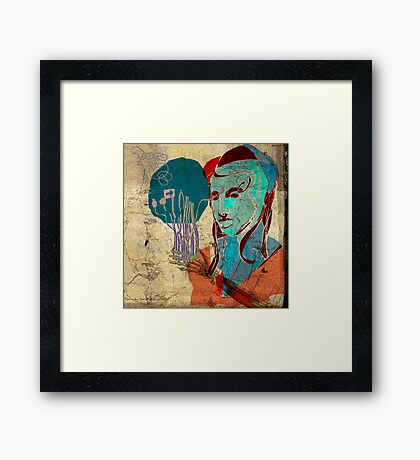 icone 3 - connection Framed Print
