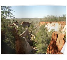 Providence Canyon View Poster