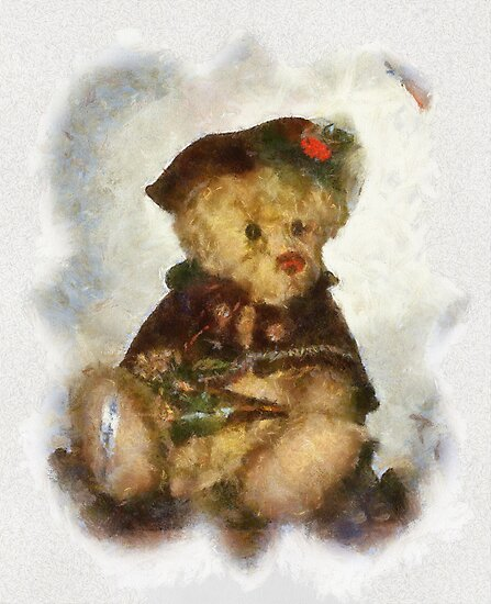 CHRISTMAS BEAR by mlynnd
