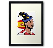 "Santi ""The spanish wizzard"" Cazorla Framed Print"