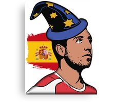 "Santi ""The spanish wizzard"" Cazorla Canvas Print"