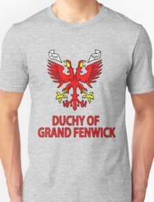 Duchy of Grand Fenwick - Coat of Arms Unisex T-Shirt