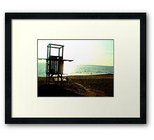 Last autumnal days in the sun - 4 Framed Print
